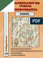 Delimitacion de Cuenca Hidrografica