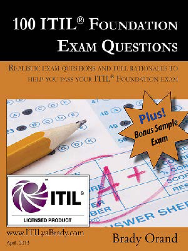 Management u0027s increasing role in 100 itil service design 100 itil foundation exam questions itilyabrady pdf pronofoot35fo Image collections