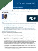 The ICC's fact sheet on Omar Al Bashir