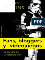 Henry Jenkins - Fans, Blogueros y Videojuegos