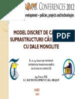 Model discret de calculal suprastructurii caii de rulare cu dale monolite.pdf