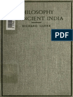The Philosophy of Ancient India - Garbe, Richard 2004