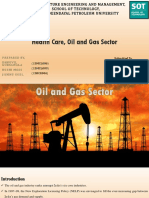Health Care, Oil and Gas Sector.pptx