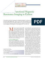 Analysis of Functional Magnetic Resonance