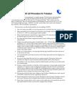 Chevron-JO Lift Procedure for Tubulars