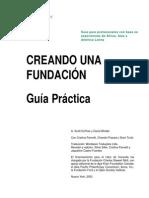 Creando Una Fundación