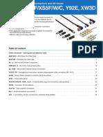 e96e Xs, y92e Cable Connector Datasheet En