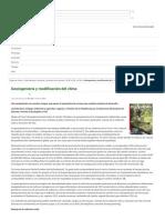 Geoingeniería y modificación del clima | Ecologistas en Acción