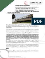 NP50-2017 | Exfuncionarios del Gobierno Regional del Callao pretenden evadir sanción de la Contraloría con habeas corpus de Juzgado de Paz de Piura