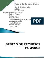 Gestão de Recursos Humanos-Adm -Objetivos e Colclusão