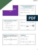 Transformada Finita de Fourier