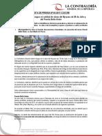 NP60-2017 | Contraloría alerta riesgos en calidad de obras del By-pass de 28 de Julio y del Puente Bella Unión