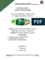 Ingeniería Sanitaria y Ambiental RRSS