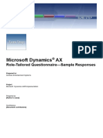 1.4.1 Role Tailored Frd Sample Ax2009