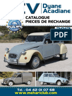 Parts catalogue  2cv