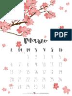 Calendario 2017 Parte 2 Marzo Abril