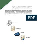 Informe Sevidor Proxy