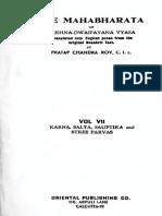 Mahabharata VOL 7
