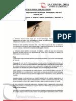 NP65-2017 | Contraloría alerta riesgos en control del dengue, chikungunya y zika en el norte del país
