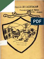 Reseña Histórica de Caxhuacan - Hernández Vázquez 1985
