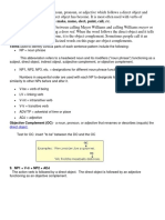Objective Complement Teaching Notes and Lesson