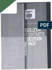 ELGUETA ANGUITA -Resolución de contratos y excepción de pago