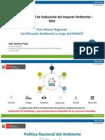 Sistema Nacional de Evalucion Del Impacto Ambiental-SEIA_Minam