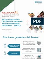 Senace - Certificación Ambiental