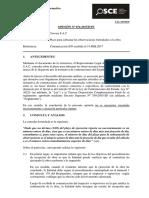 074-17 - Crovisa s.a.c. - Plazo Subsanar Observaciones Formuladas Obra