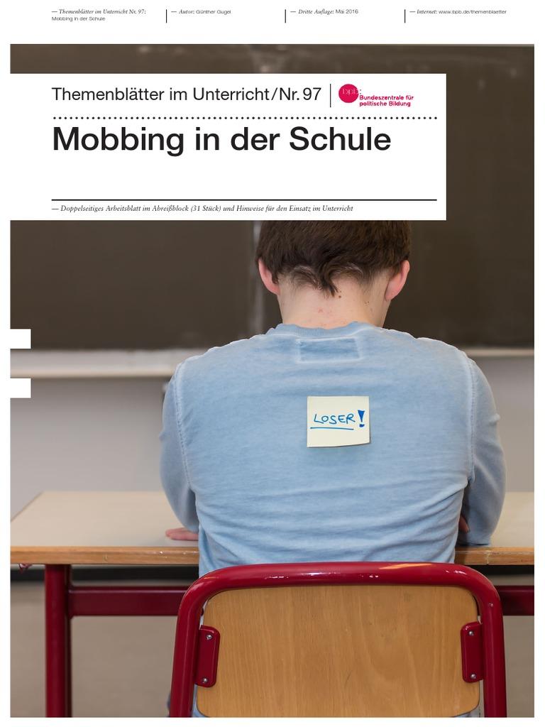 Mobbing in der Schule (Themenheft)