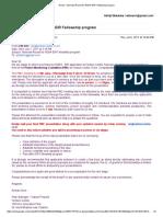 International Awards Conference Invites & Recco Letters Uni5-Elements Abhijit Malankar
