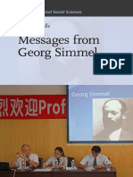 (Studies in Critical Social Sciences) Horst Jürgen Helle-Messages from Georg Simmel-Brill (2012)