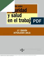 Legislacion Sobre Seguridad y Salud en El Trabajo 17a Ed