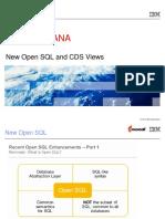 NewOpenSQL and CDS Views.ppt