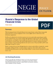 Russia's Response to the Global Financial Crisis