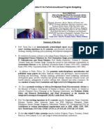 Tarun Das CV for Performance Based Program Budgeting