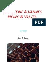 Tuyauterie Et Vannes French-English
