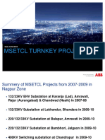 Msetcl Turnkey Projects