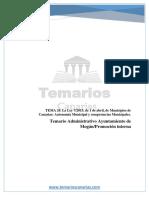 TEMA 20 Municipios Canarias