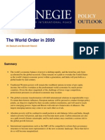 The World Order in 2050