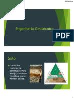 Tc 029 - Introdução a geotecnia