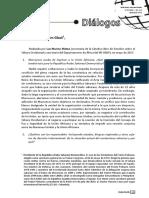 Entrevista a Brahim Ghali en destacada revista académica argentina