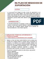 Estructura Plan de Negocios de Exportación (1)