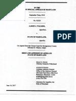 Walker v. State, AG Brief 1