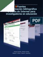 Libro- Fuentes Bibliograficas en Internet.para Investig. Educacion