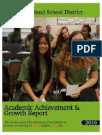 academic achievement report