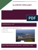 Airport Marculesti University project