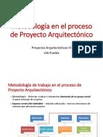 Metodología en El Proceso de Proyecto