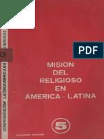 CLAR. Mision del religioso en America Latina, Bogotá, SF. OCR.pdf
