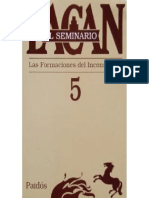 Lacan, Jacques - Seminario V - Ed. Paidós